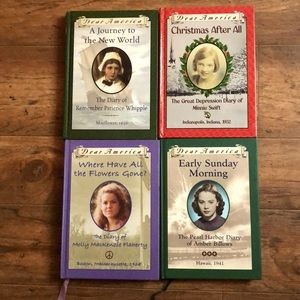 Bundle of 4 Scholastic Dear America History Books